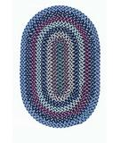 RugStudio presents Colonial Mills Boston Common BC52 Winter Blues Braided Area Rug