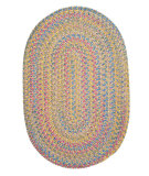 RugStudio presents Colonial Mills Botanical Isle Bi61 Kiwi Braided Area Rug