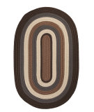 RugStudio presents Colonial Mills Brooklyn BN19 Brownstone Braided Area Rug