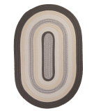 RugStudio presents Colonial Mills Brooklyn BN49 Slate Braided Area Rug