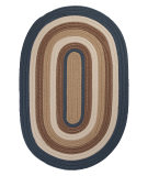 RugStudio presents Colonial Mills Brooklyn BN59 Blue Haze Braided Area Rug