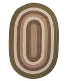 RugStudio presents Colonial Mills Brooklyn BN69 Moss Braided Area Rug