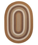 RugStudio presents Colonial Mills Brooklyn BN99 Amber Way Braided Area Rug