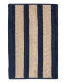 RugStudio presents Colonial Mills Boat House Bt59 Navy Braided Area Rug