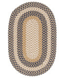 RugStudio presents Colonial Mills Burmingham BU55 Blue Crest Braided Area Rug