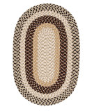 RugStudio presents Colonial Mills Burmingham BU95 Neutral Tone Braided Area Rug