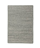 RugStudio presents Colonial Mills Cadence Ca41 Gray Mix Braided Area Rug