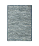 RugStudio presents Colonial Mills Cadence Ca51 Denim Blue Mix Braided Area Rug