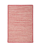RugStudio presents Colonial Mills Cadence Ca71 Red Mix Braided Area Rug