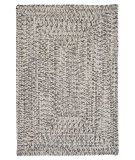 RugStudio presents Colonial Mills Corsica Cc19 Silver Shimmer Braided Area Rug