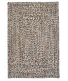 RugStudio presents Colonial Mills Corsica Cc49 Lake Blue Braided Area Rug