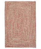 RugStudio presents Colonial Mills Corsica Cc79 Porcelain Rose Braided Area Rug