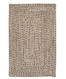 RugStudio presents Colonial Mills Corsica Cc89 Storm Gray Braided Area Rug