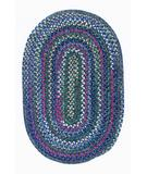 RugStudio presents Colonial Mills Chestnut Knoll CK57 Baltic Blue Braided Area Rug