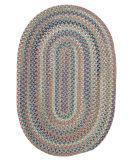RugStudio presents Colonial Mills Cedar Cove Cv29 Light Blue Braided Area Rug