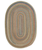 RugStudio presents Colonial Mills Cedar Cove Cv69 Olive Braided Area Rug