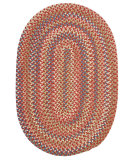 RugStudio presents Colonial Mills Cedar Cove Cv79 Rust Braided Area Rug