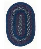 RugStudio presents Colonial Mills Deerfield DF51 Midnight Blue Braided Area Rug