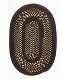RugStudio presents Colonial Mills Deerfield DF71 Seal Brown Braided Area Rug