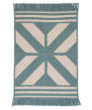 RugStudio presents Colonial Mills Sedona Ed49 Teal Braided Area Rug