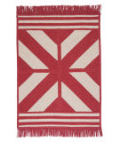 RugStudio presents Colonial Mills Sedona Ed79 Red Braided Area Rug