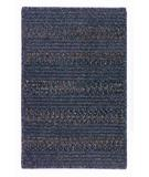 RugStudio presents Colonial Mills Elegance EL50 Lapis Blue Braided Area Rug