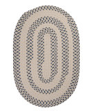 RugStudio presents Colonial Mills Elmwood EM59 Denim Braided Area Rug