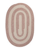 RugStudio presents Colonial Mills Elmwood EM79 Rosewood Braided Area Rug