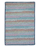 RugStudio presents Colonial Mills Color Frenzy Fr59 Big Blue Braided Area Rug
