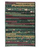 RugStudio presents Colonial Mills Thimbleberries - Lynette Jensen Four Seasons Retangle FS-52 Winter Braided Area Rug