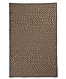 RugStudio presents Colonial Mills Natural Wool Houndstooth HD34 Caramel Braided Area Rug