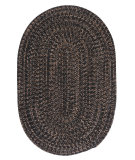 RugStudio presents Colonial Mills Hayward Hy19 Black Braided Area Rug