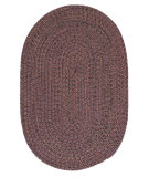 RugStudio presents Colonial Mills Hayward Hy49 Plum Braided Area Rug