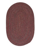 RugStudio presents Colonial Mills Hayward Hy79 Berry Braided Area Rug