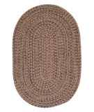 RugStudio presents Colonial Mills Hayward Hy89 Mocha Braided Area Rug