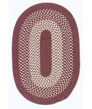 RugStudio presents Colonial Mills Jackson JK70 Rosewood Braided Area Rug