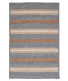 RugStudio presents Colonial Mills Salisbury Ly19 Gray Braided Area Rug