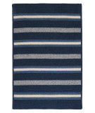 RugStudio presents Colonial Mills Salisbury Ly29 Navy Braided Area Rug