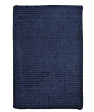 RugStudio presents Colonial Mills Simple Chenille M503 Navy Braided Area Rug