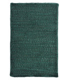 RugStudio presents Colonial Mills Simple Chenille M603 Dark Green Braided Area Rug