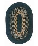 RugStudio presents Colonial Mills Madison MD64 Alpine Green Braided Area Rug