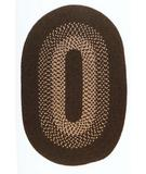 RugStudio presents Colonial Mills Madison MD84 Roasted Brown Braided Area Rug