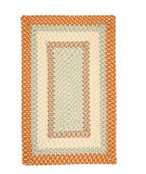 RugStudio presents Colonial Mills Montego MG29 Tangerine Braided Area Rug
