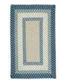 RugStudio presents Colonial Mills Montego MG59 Blue Burst Braided Area Rug