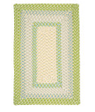 RugStudio presents Colonial Mills Montego MG69 Lime Twist Braided Area Rug