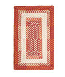 RugStudio presents Colonial Mills Montego MG79 Bonfire Braided Area Rug