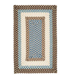 RugStudio presents Colonial Mills Montego MG89 Bright Brown Braided Area Rug
