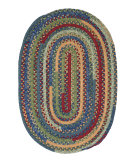 RugStudio presents Colonial Mills Market Mix Mm03 Sea Glass Braided Area Rug
