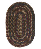 RugStudio presents Colonial Mills Midnight Mn37 Java Braided Area Rug