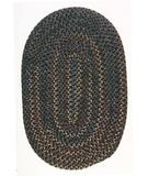 RugStudio presents Colonial Mills Midnight MN46 Carbon Braided Area Rug